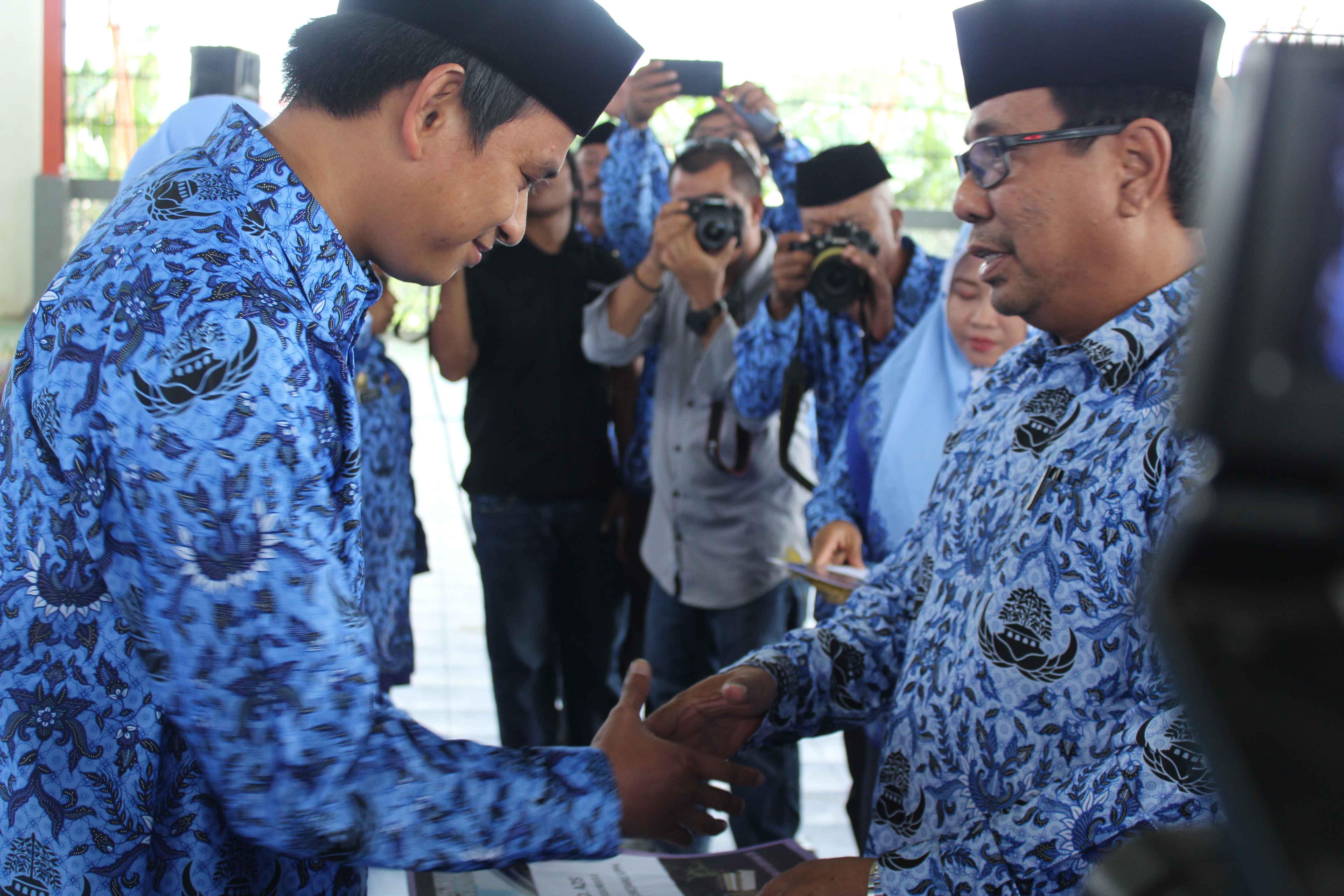 Penyerahan SK CPNSD Kabupaten Pinrang